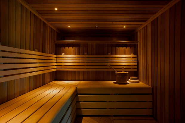 Sauna St Pancras Renaissance Hotel