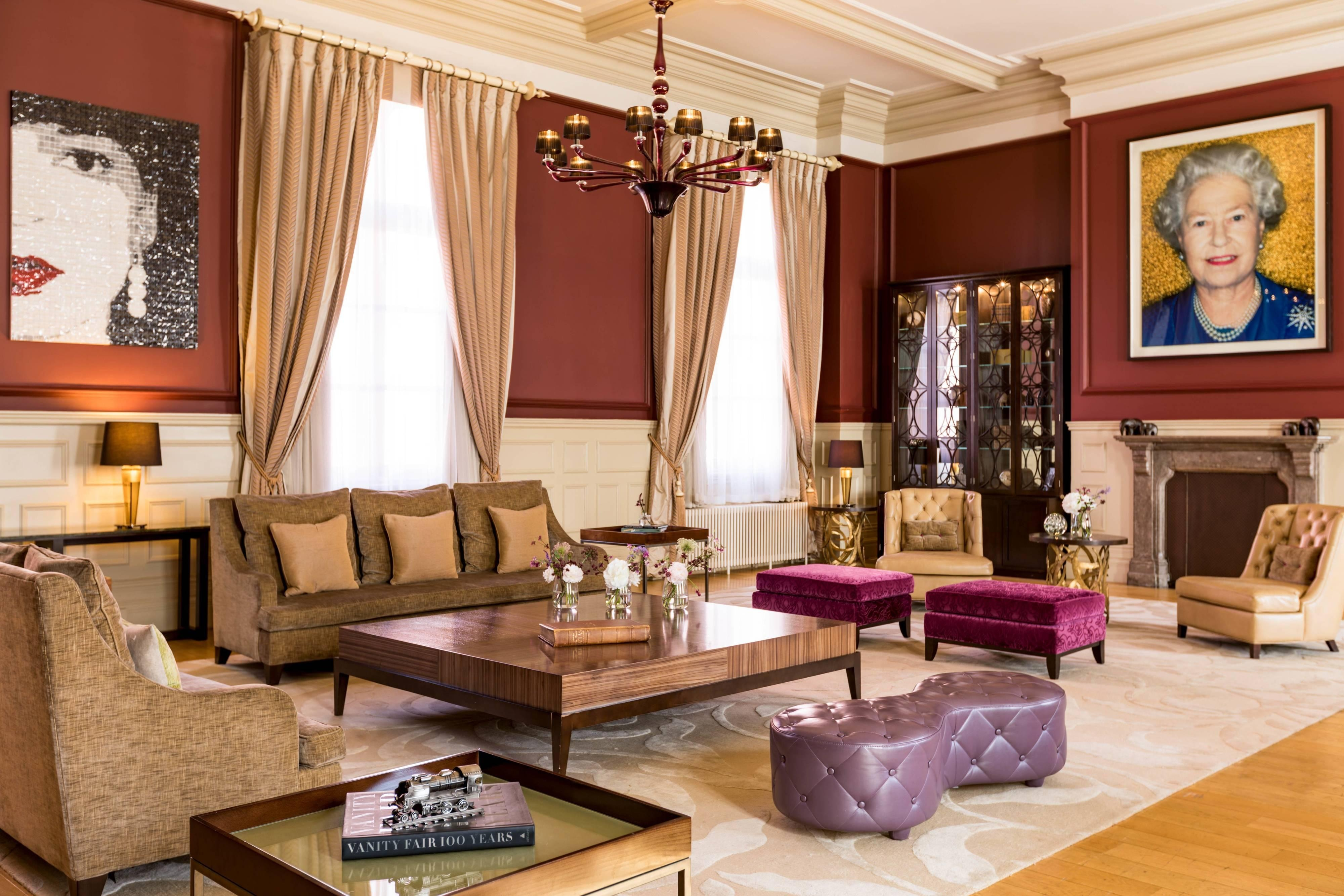 The Royal Suite - Living Area