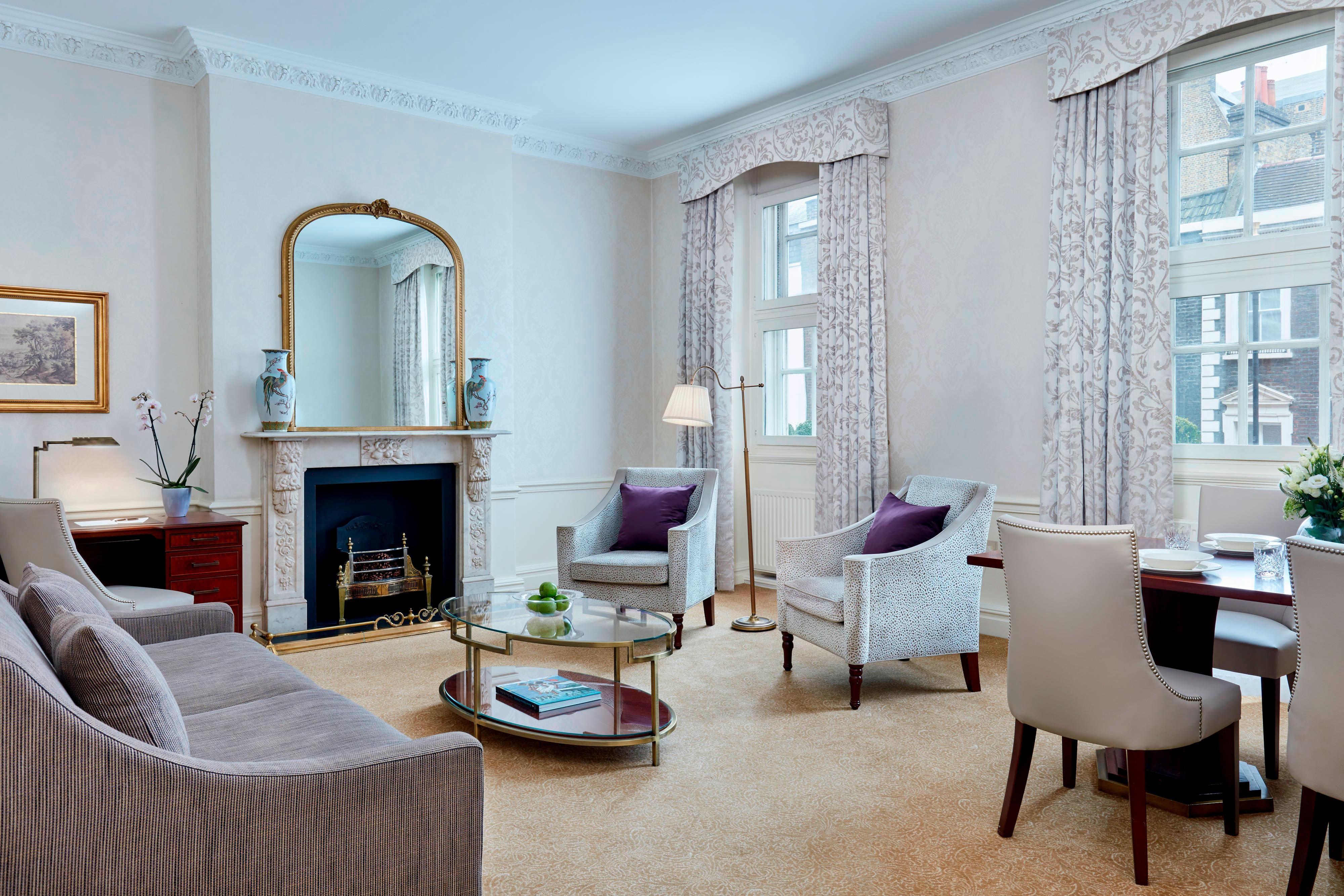 Suite Deluxe con due camere da letto - Soggiorno e sala da pranzo