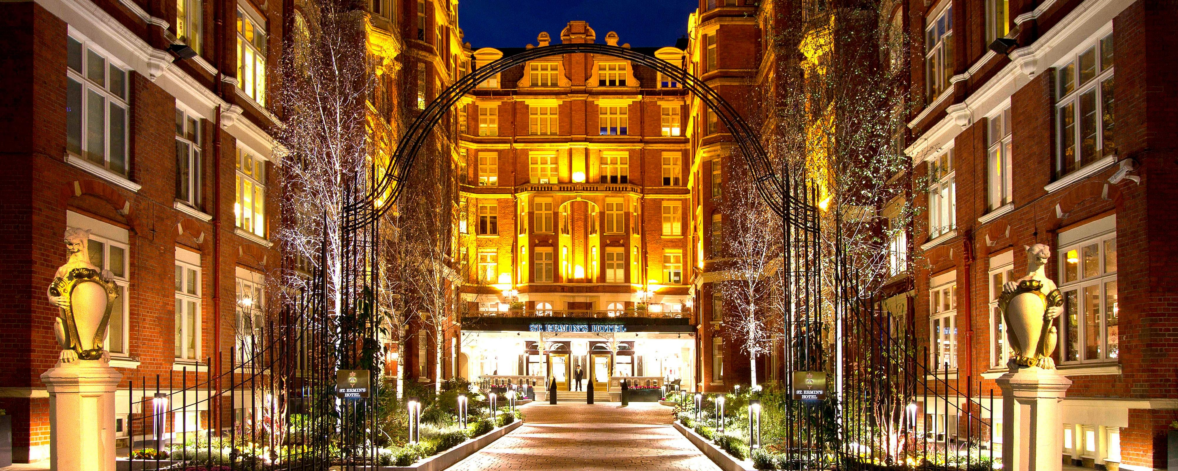 St. Ermin's Hotel Entrance
