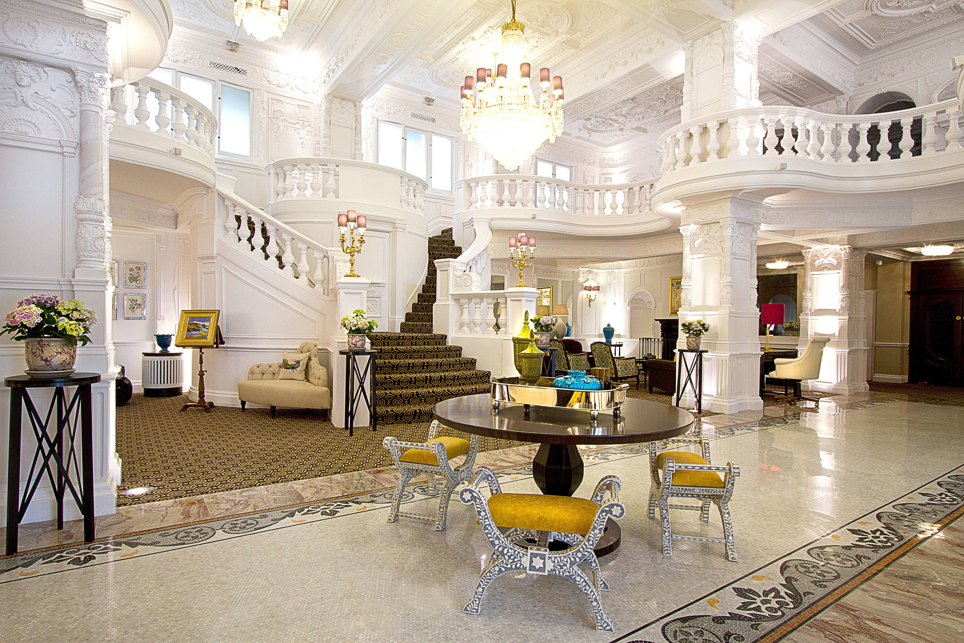 Lobby do hotel St. Ermin's