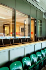 Balcone con vista sul campo del Marriott Twickenham