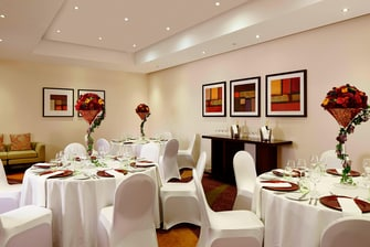 Restaurante privativo no Marriott em Twickenham