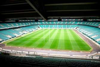 Pitch, Twickenham Stadium, London UK
