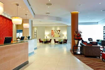 Reception at Twickenham Marriott Hotel