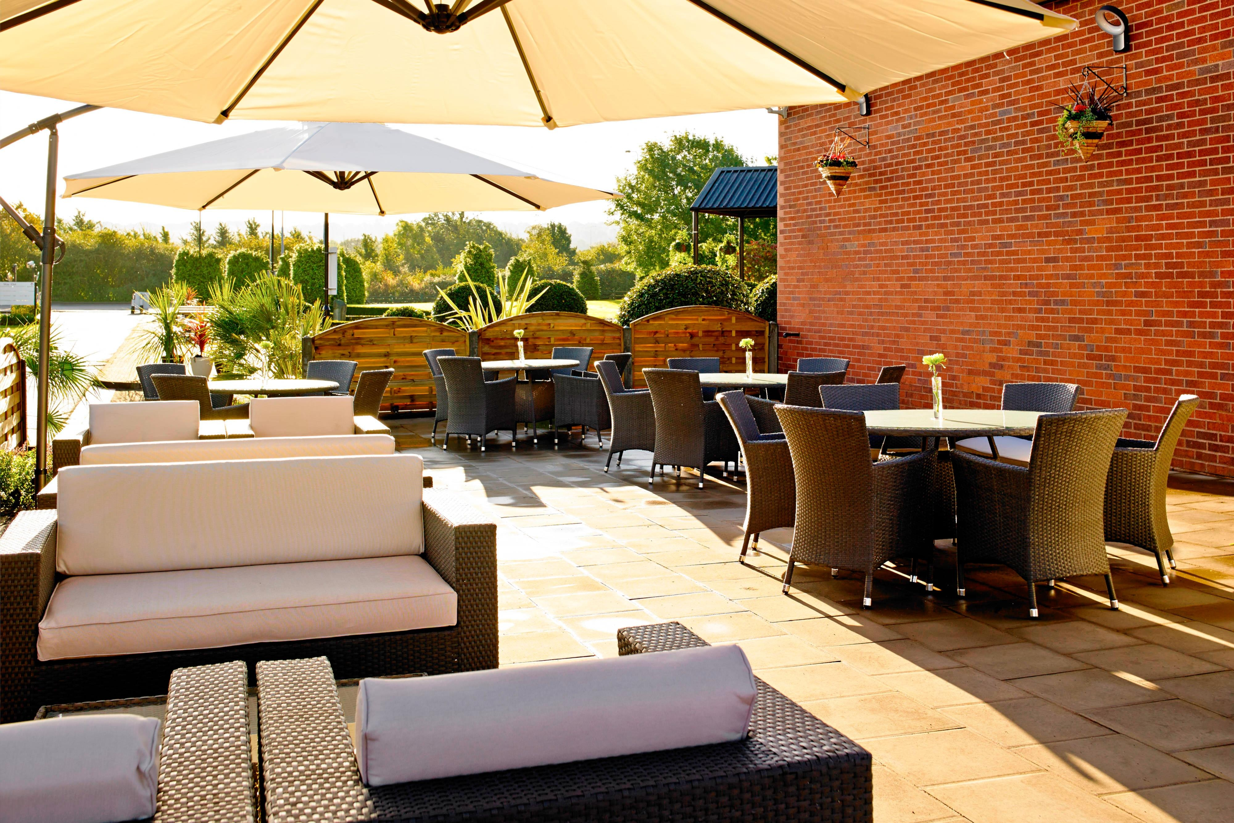 Waltham Abbey Marriott Outdoor Patio