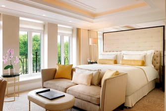 Junior Suite, vista a Hyde Park