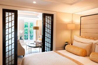 Suite de un dormitorio con vista al parque