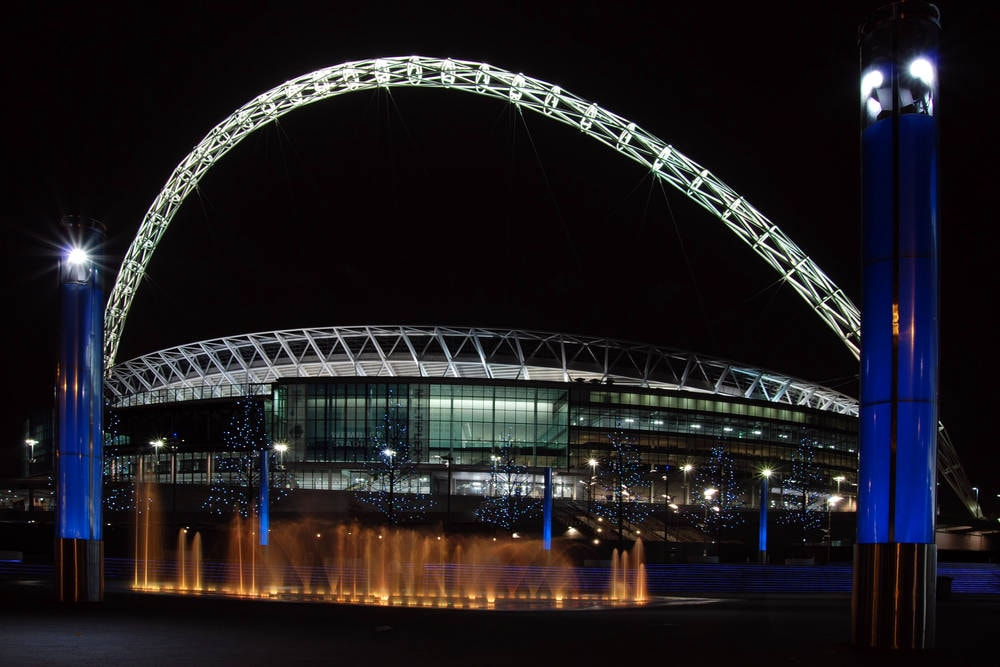 Wembley Stadium, London UK