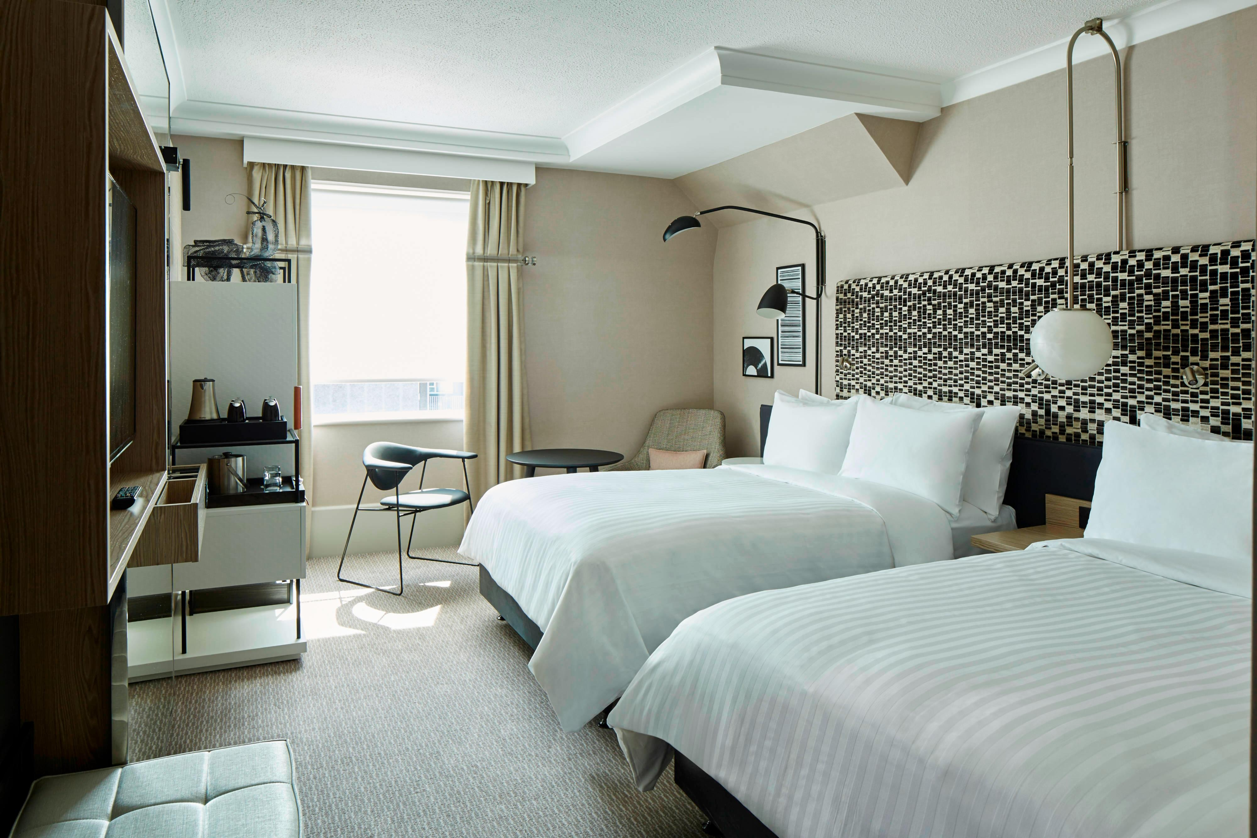 Double/Double Deluxe Guest Room