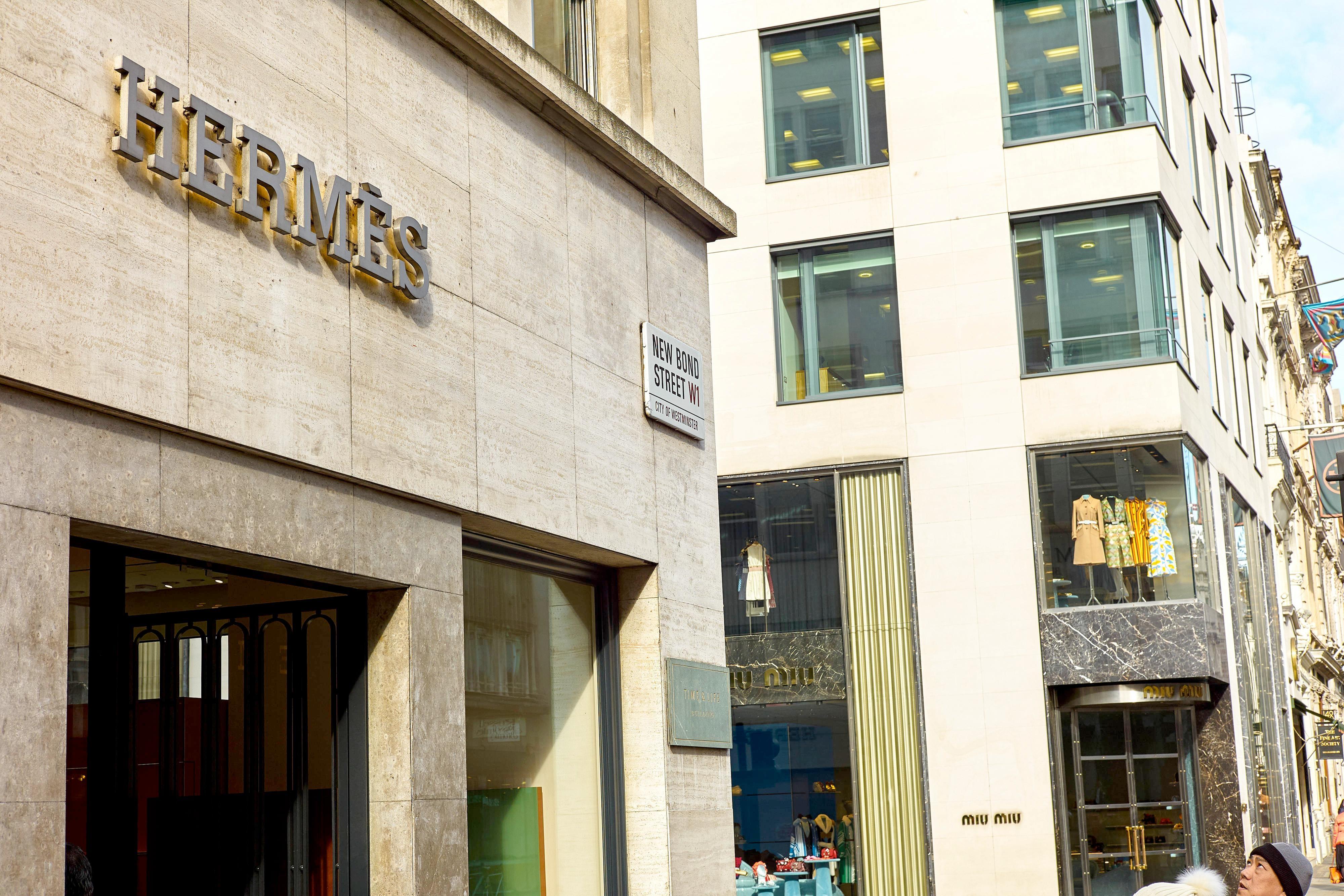 Hermes New Bond Street London