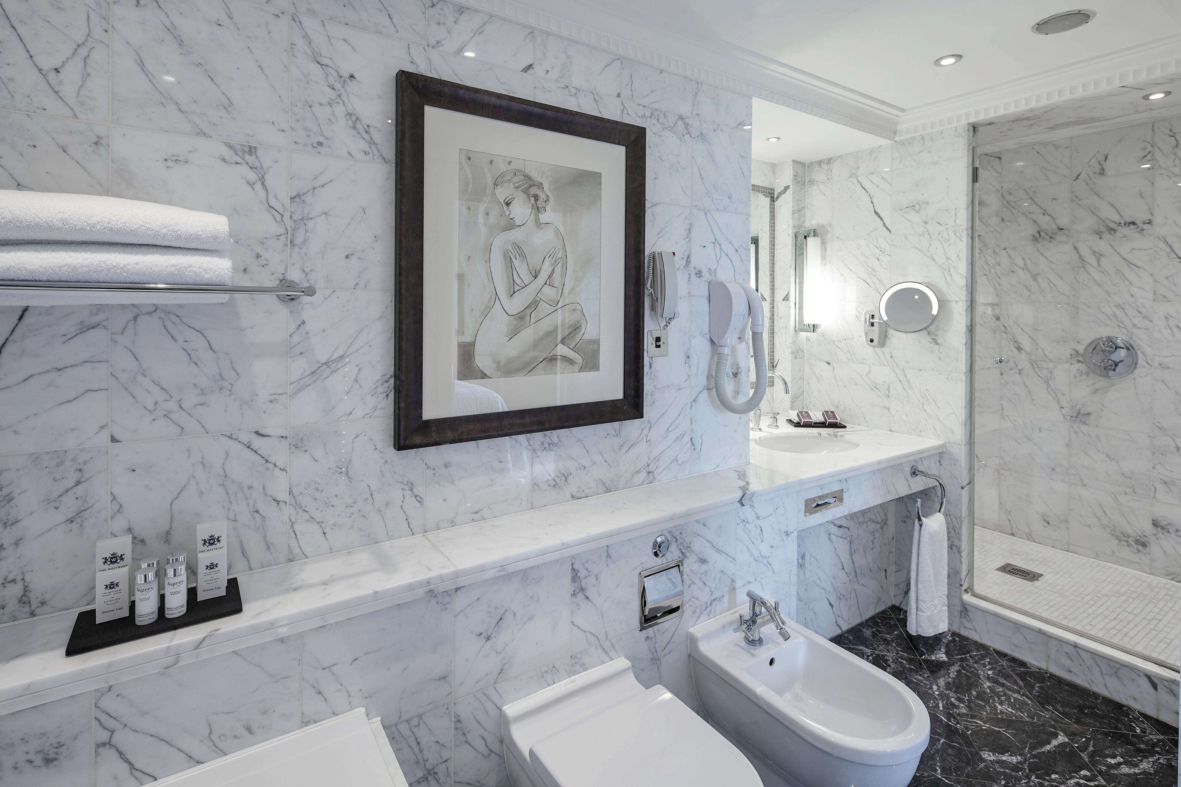 Berkeley Terrace Suite - Bathroom
