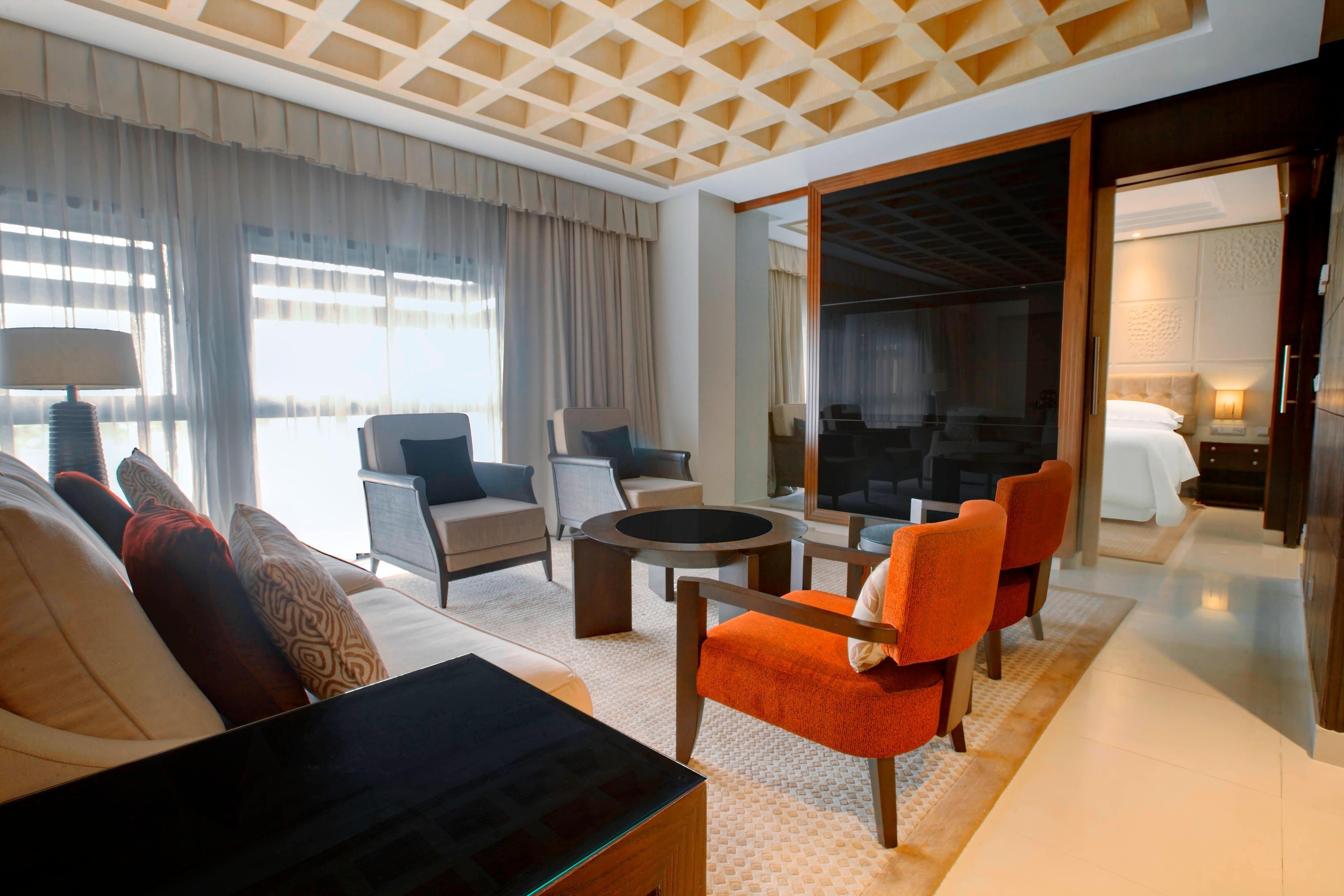 Diplomaten-Suite – Wohnzimmer