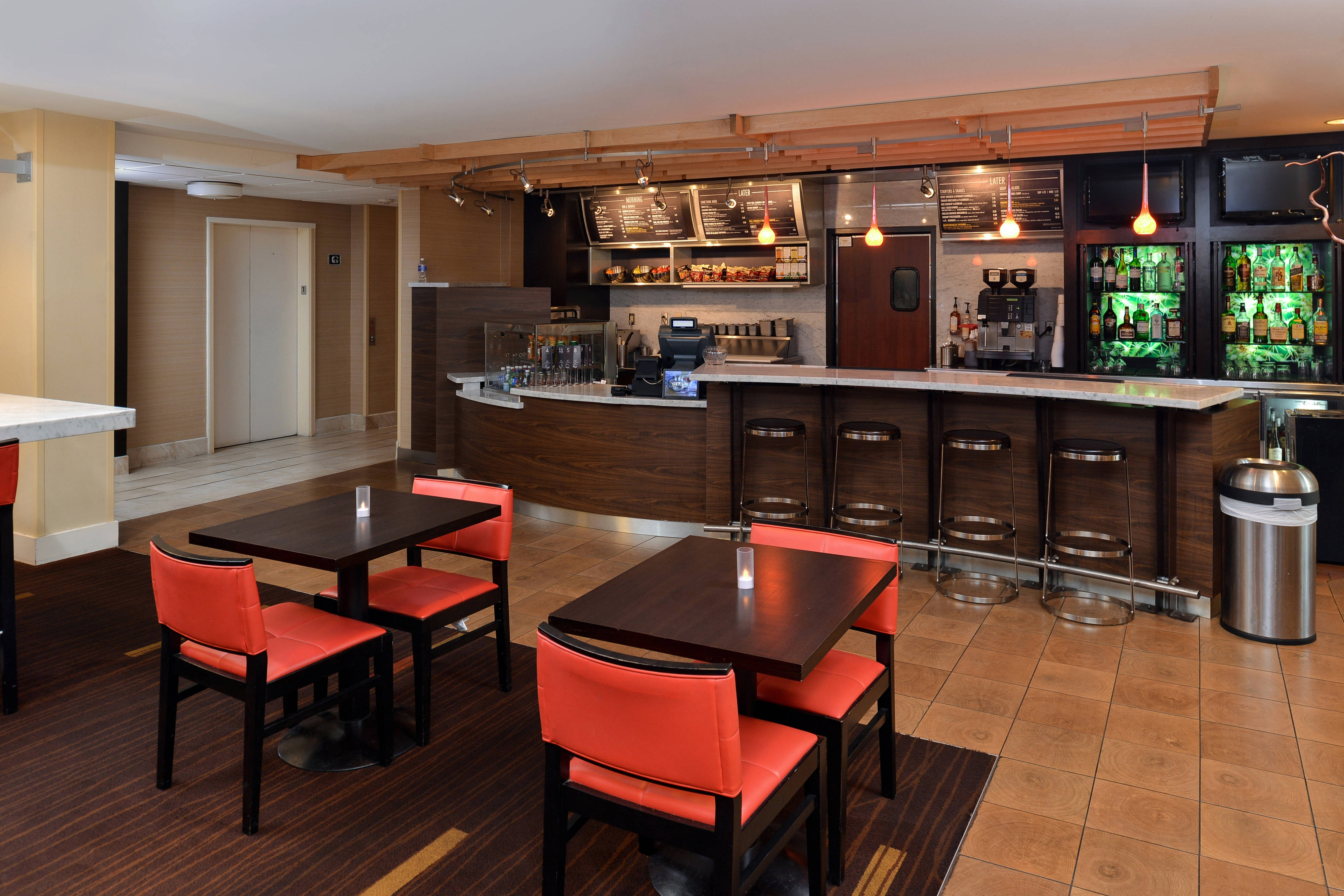 Courtyard by Marriott Laredo Bistro Seating