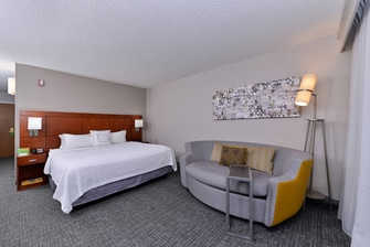 Courtyard by Marriott Laredo King Guest Room