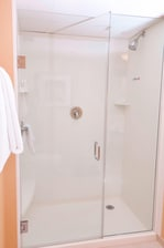 Suite with standup shower