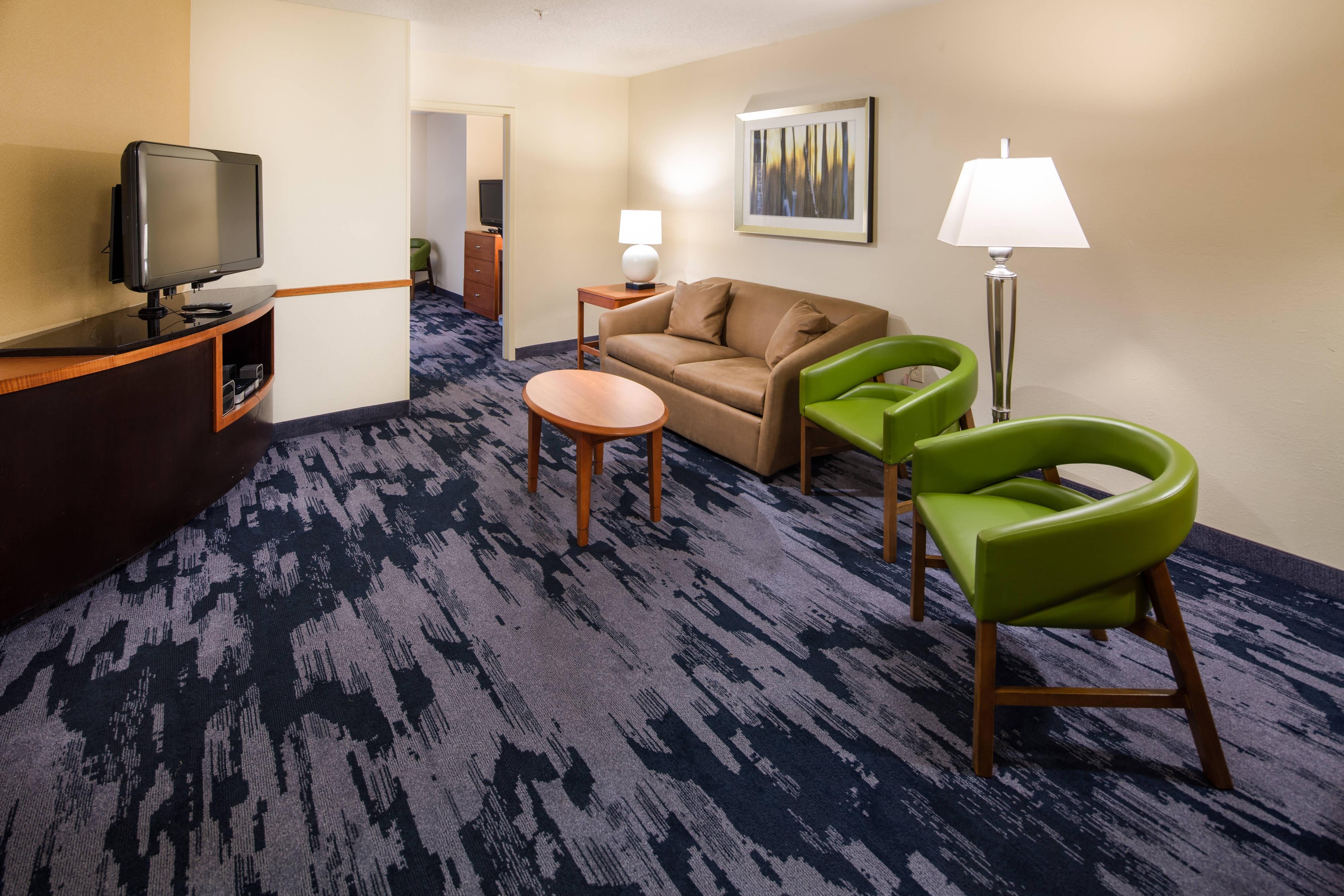 Suite cama tamaño King - Sala de estar