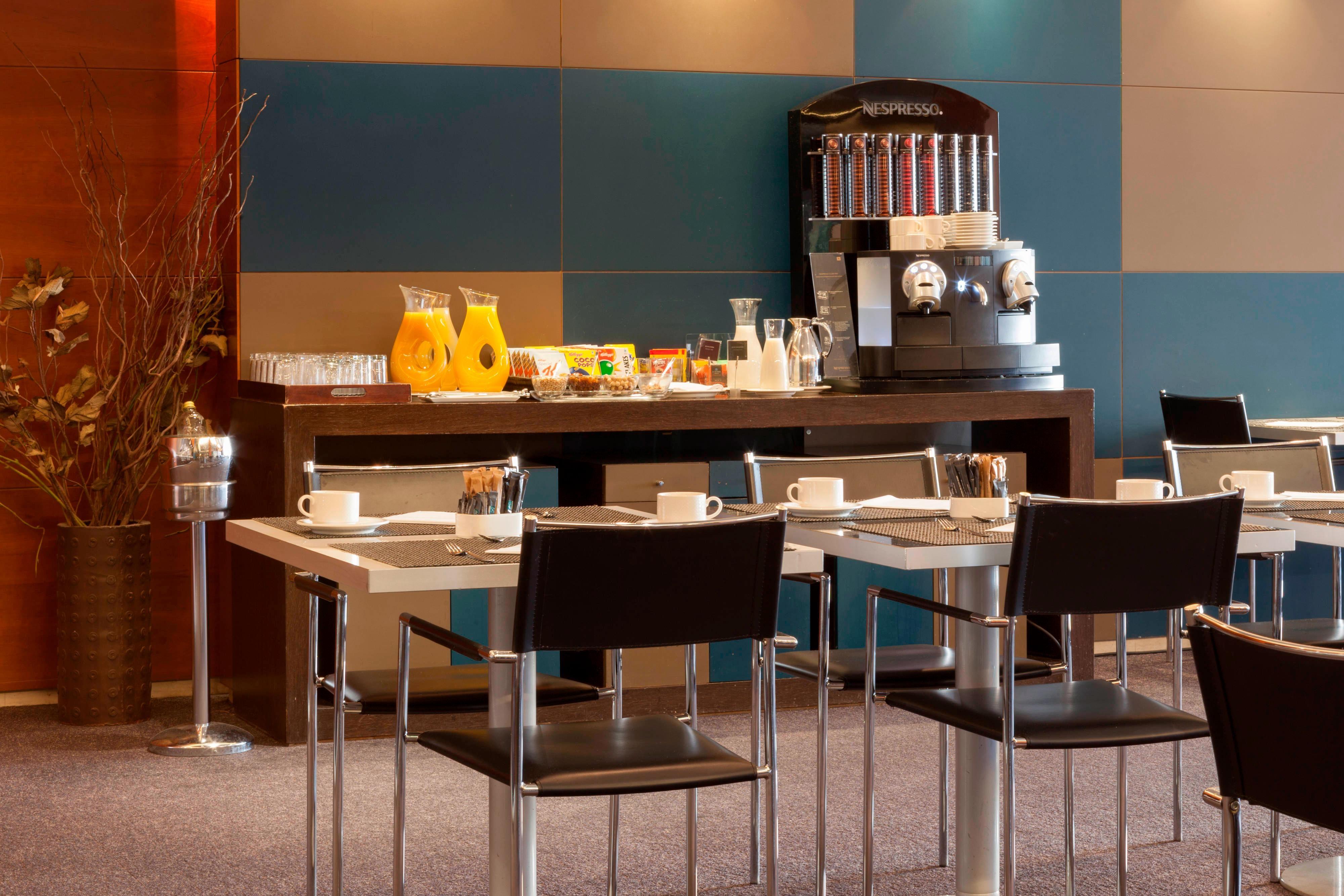 Breakfast buffet in Aravaca hotel