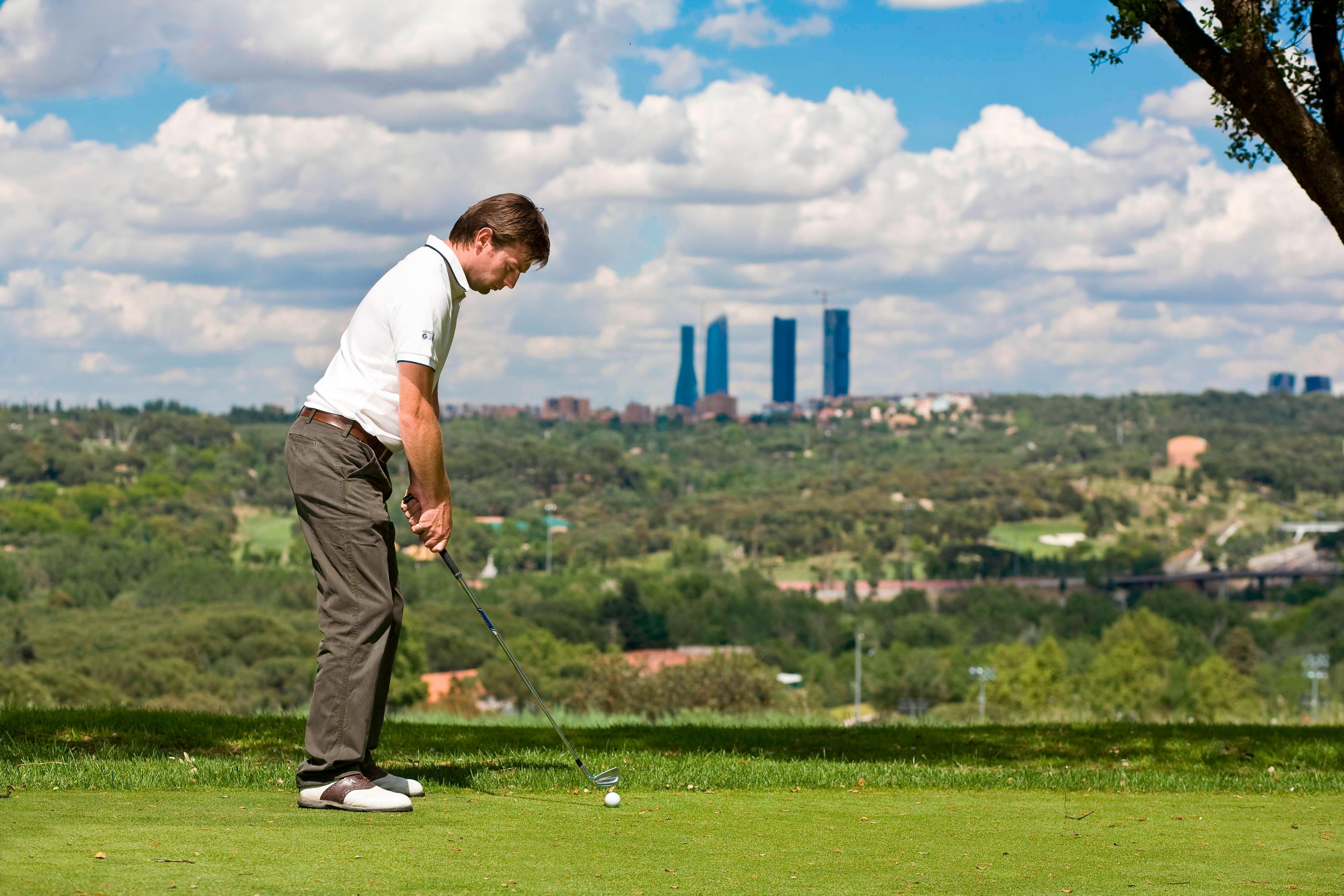 Campo de golf en Madrid