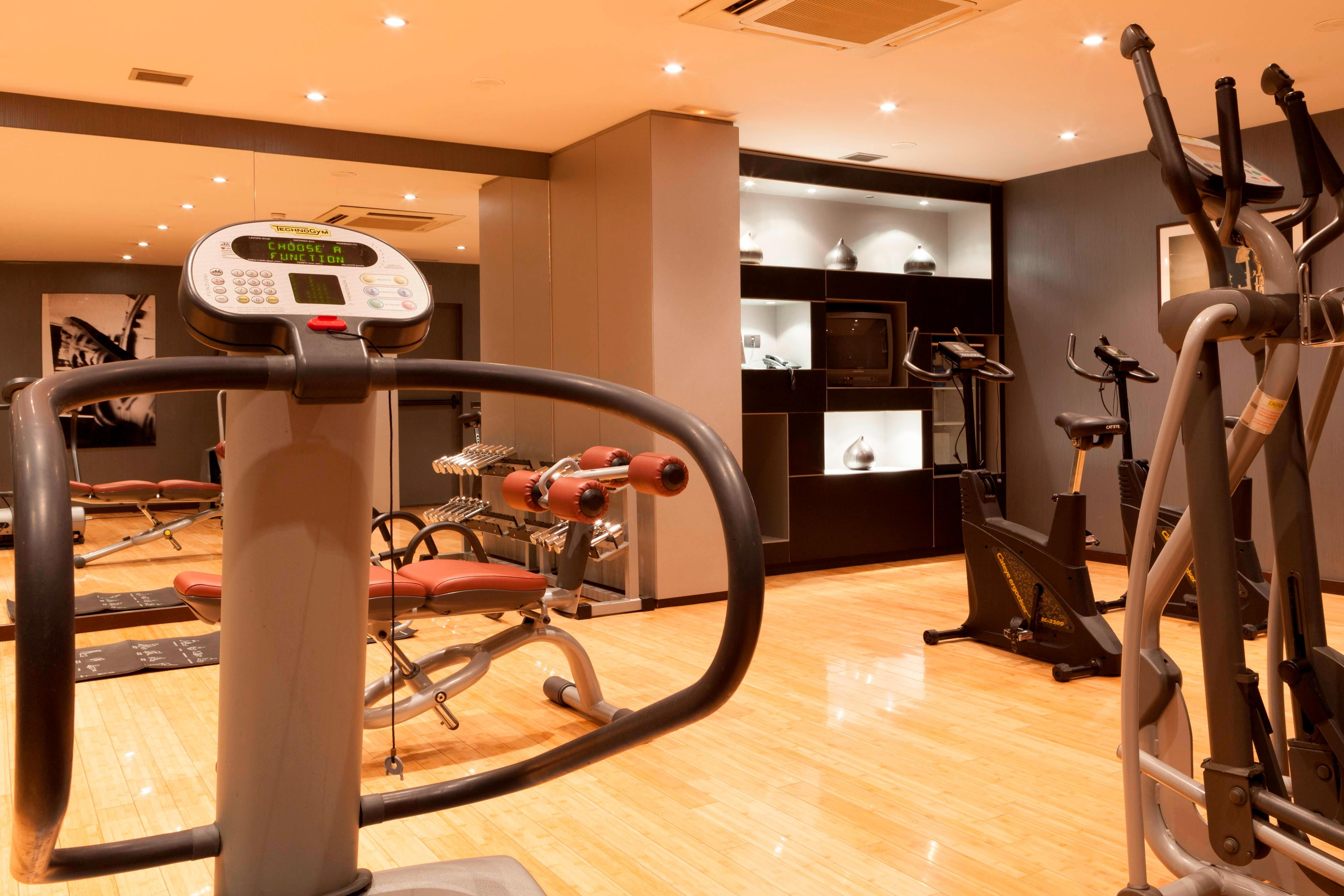Coslada hotel with fitness center