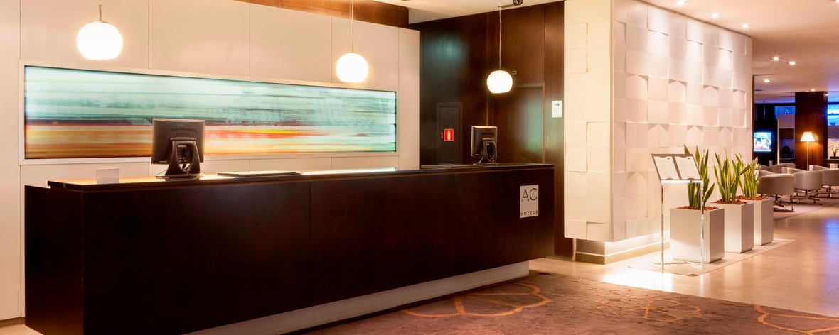 Hotel reception ac hotels by marriott