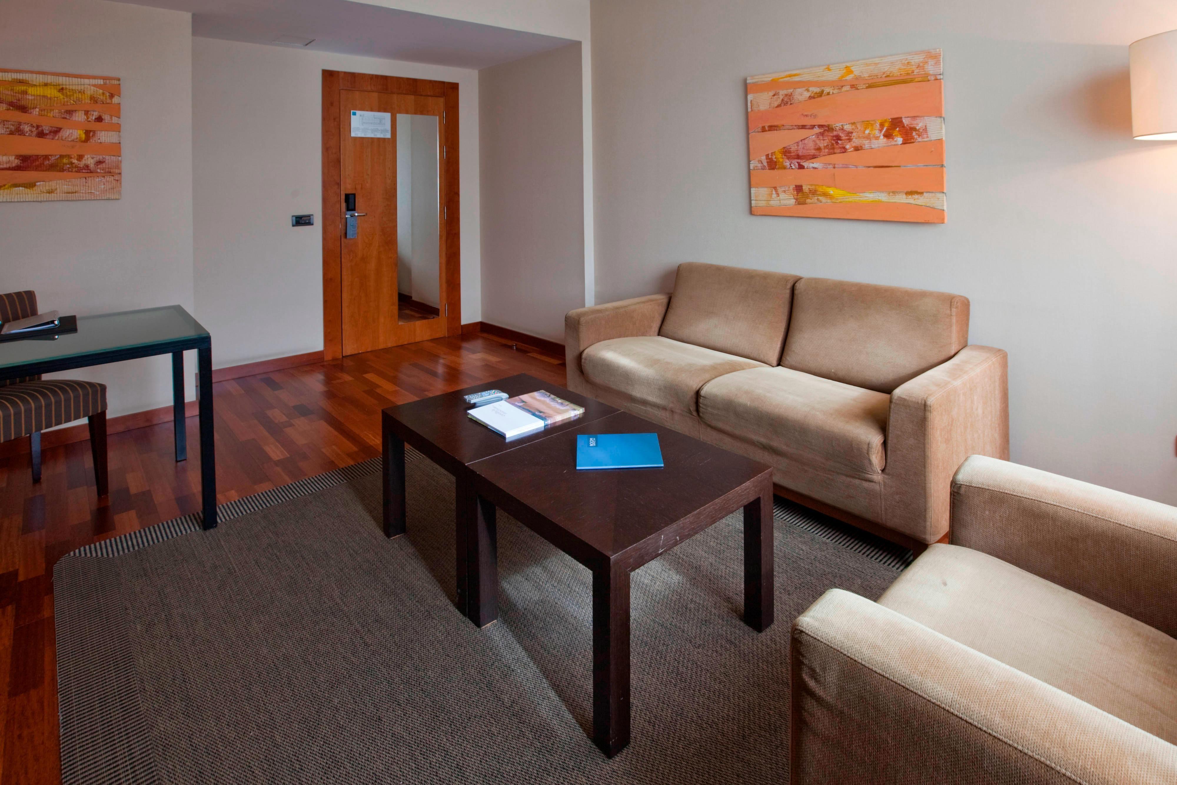 Habitaciones suite en hotel de Guadalajara