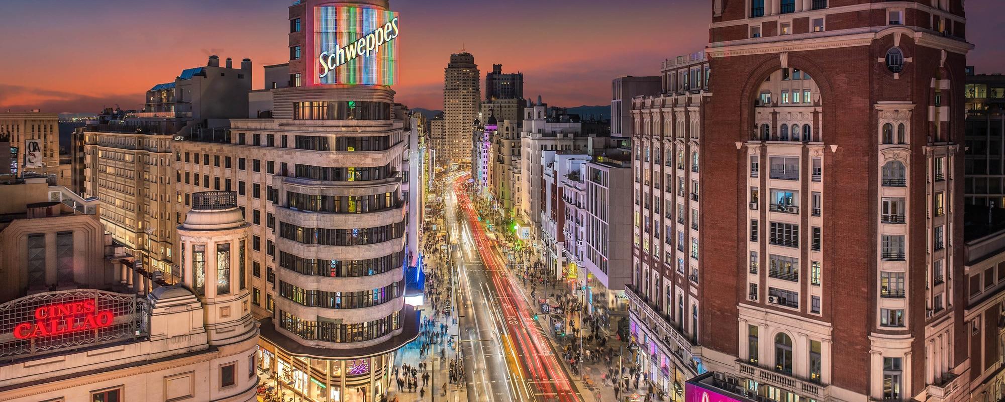 Aloft Madrid Gran Via Premium Hotel In The Center Of Madrid