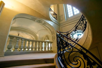 Madrid Luxury Hotel Staircase