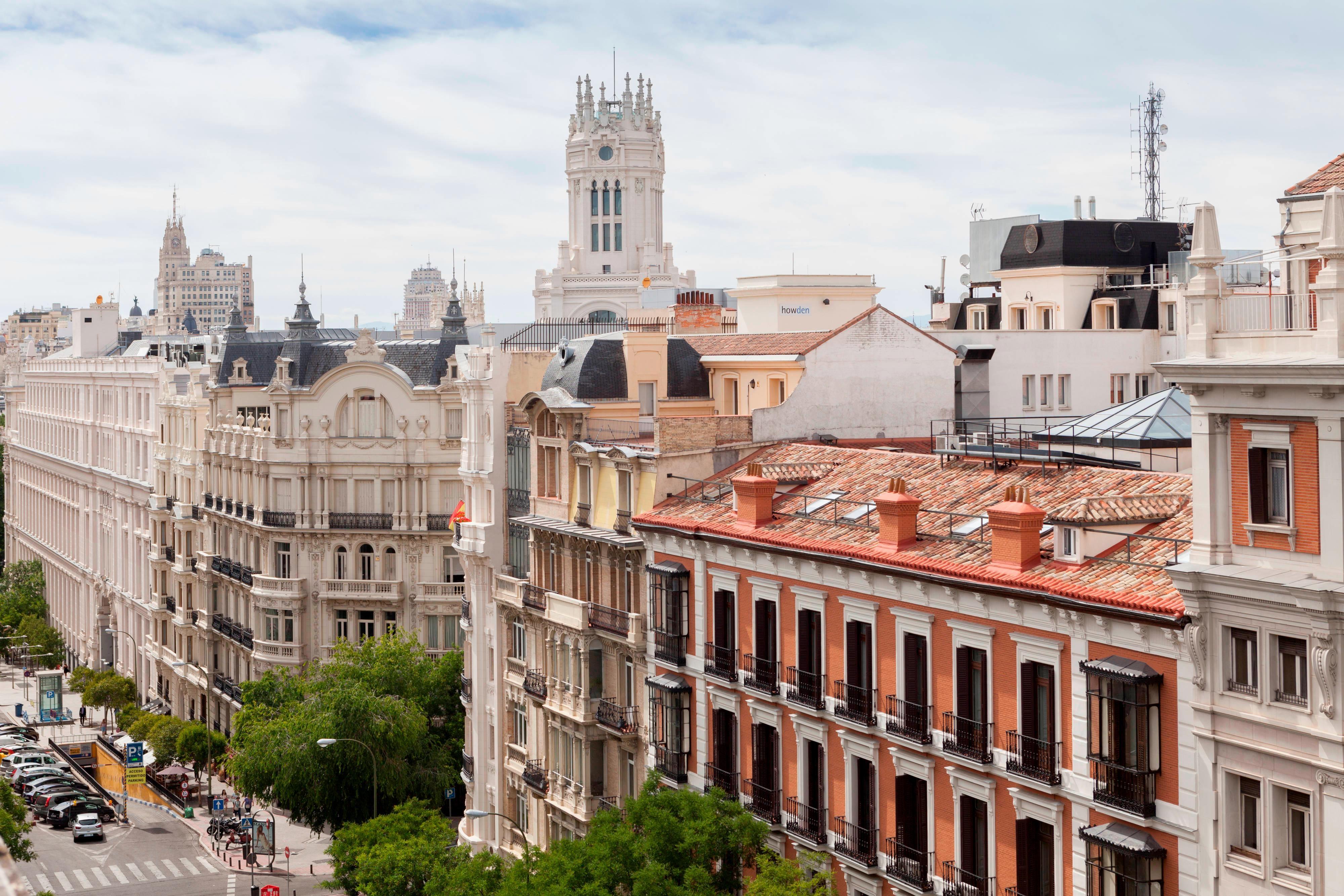 Hotel boutique con vistas en Madrid