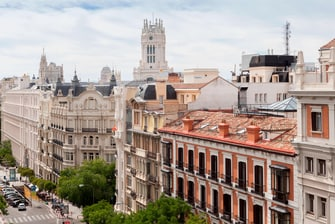 Hotel boutique con vistas en Madrid