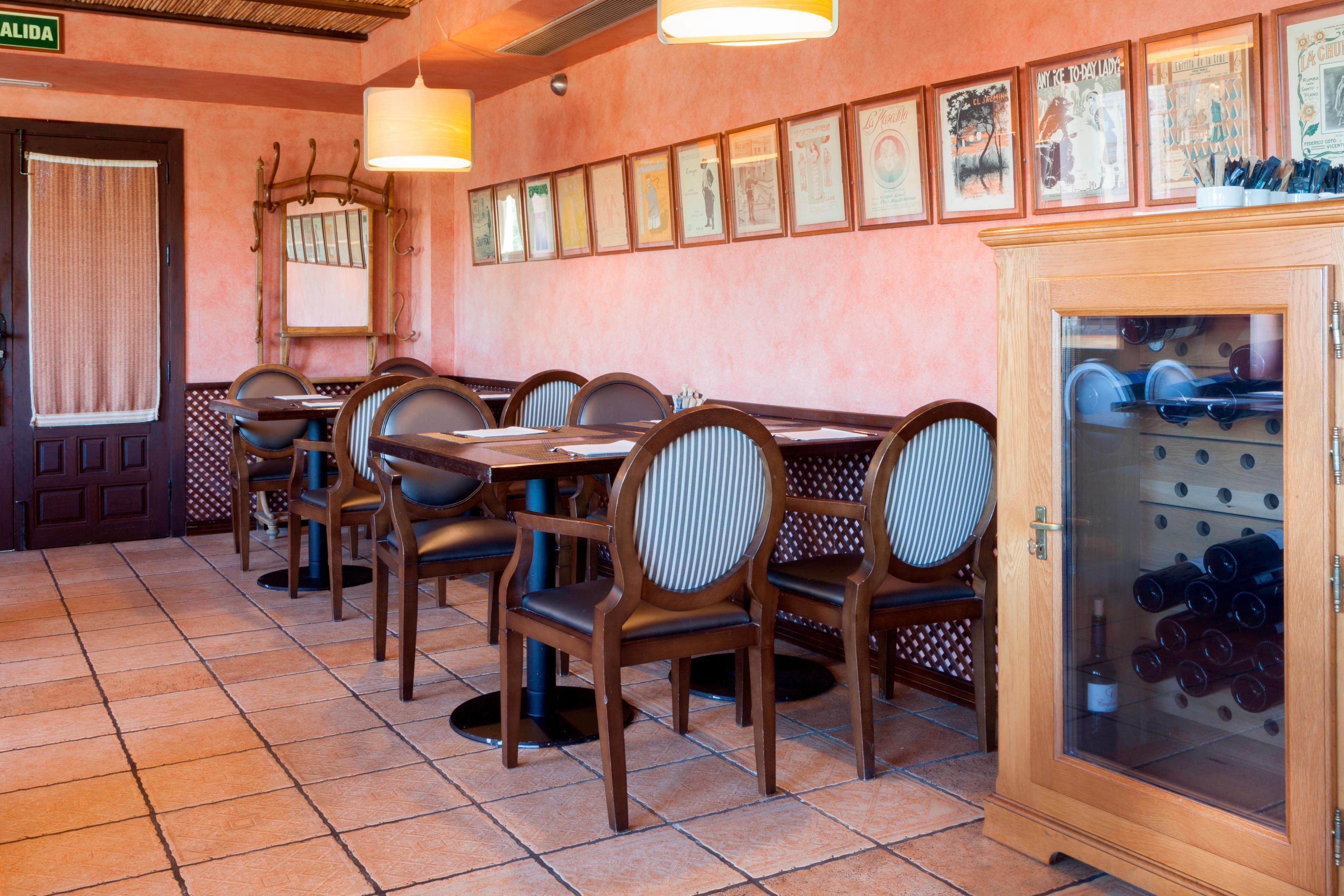 Breakfast buffet in Toledo Hotel