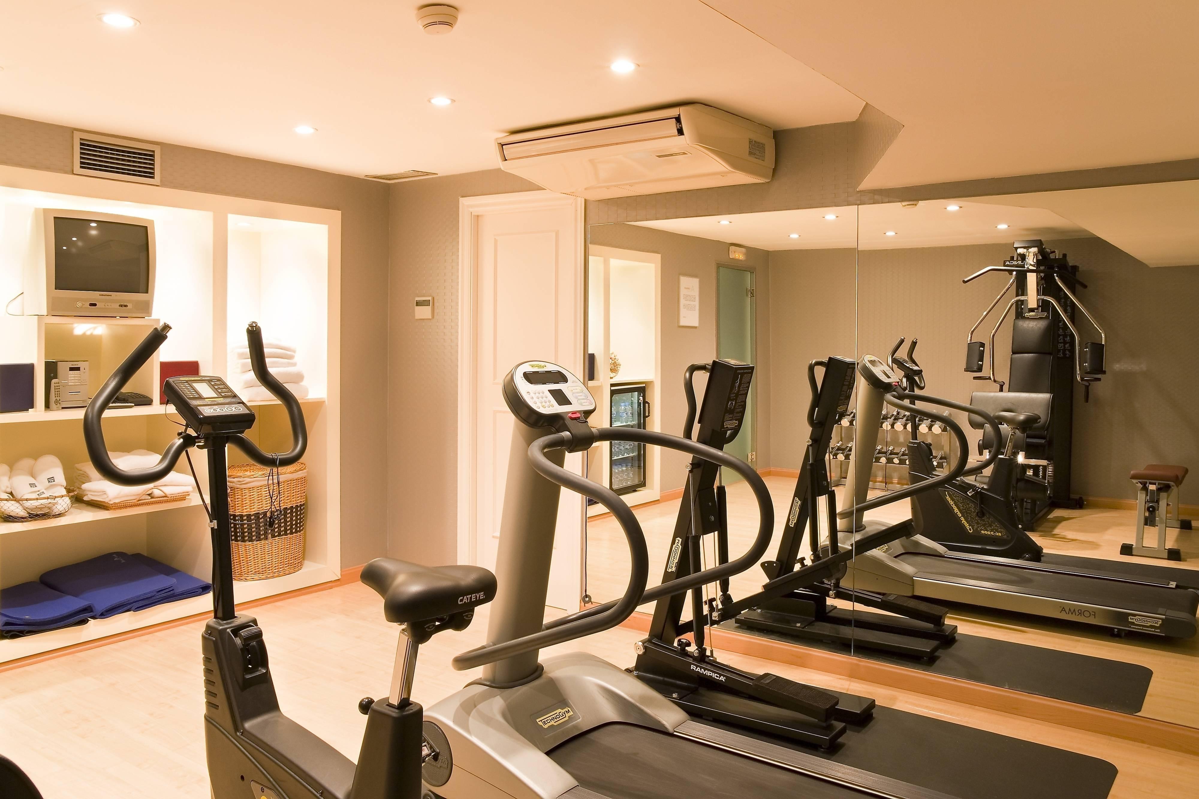 Toledo hotel fitness centre