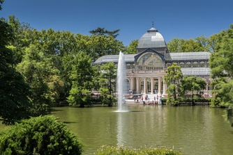 Kristallpalast am Retiro Park