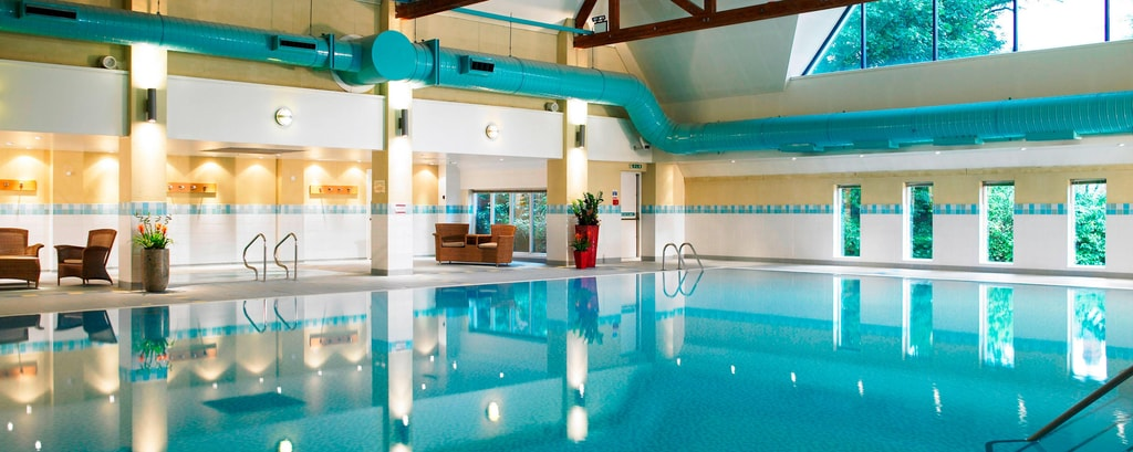 Manchester hotel with pool and gym worsley park marriott hotel country club for Gyms in manchester city centre with swimming pools