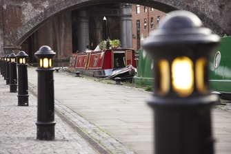 Manchester's canal network