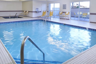 Frankenmuth hotel with pool