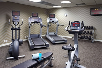 Saginaw hotel with fitness center