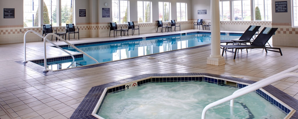 Saginaw hotel with indoor pool