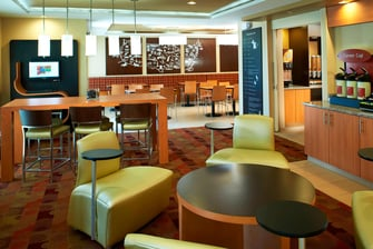 Saginaw, Michigan hotel lobby