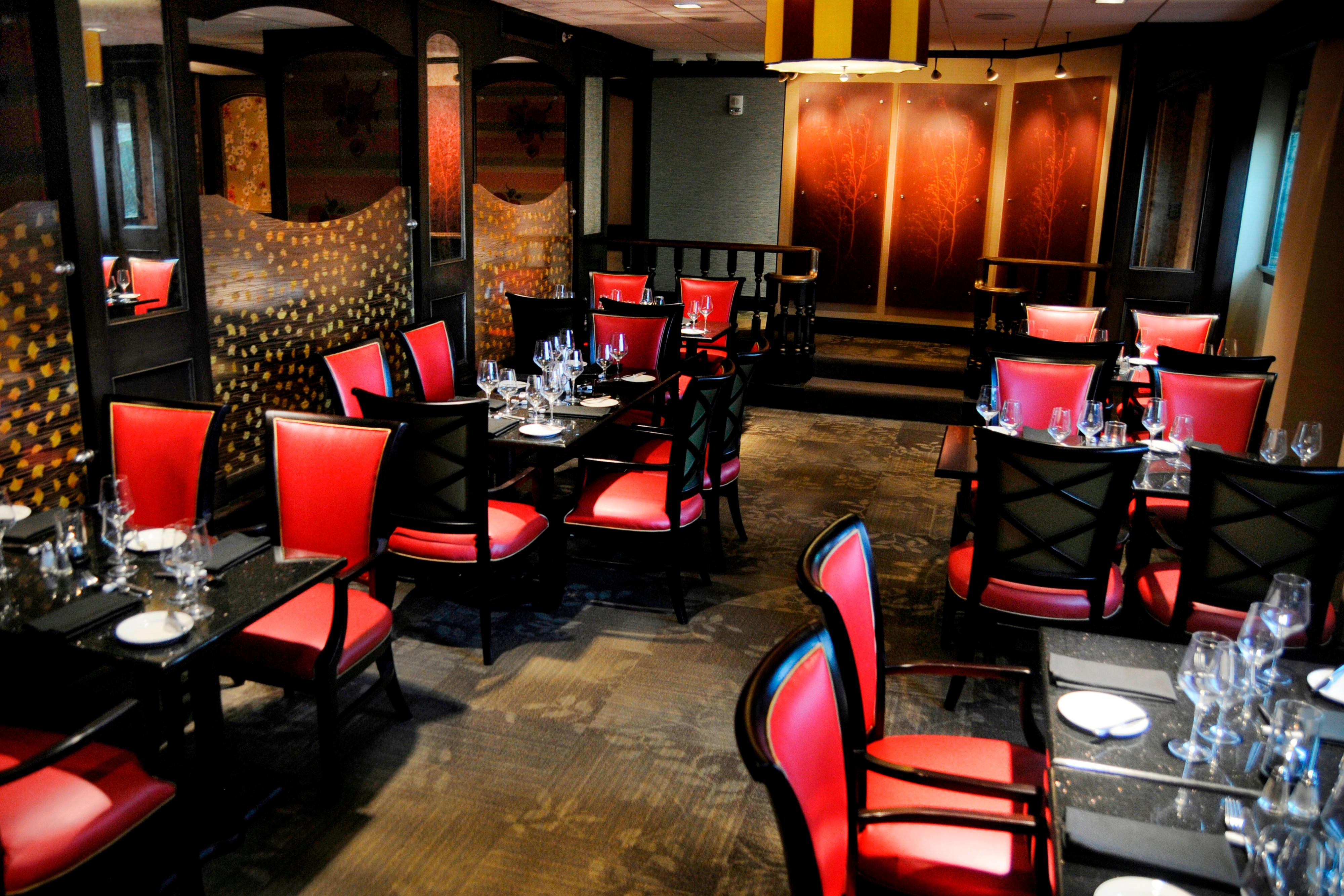 Chaz Restaurant – Dining Area
