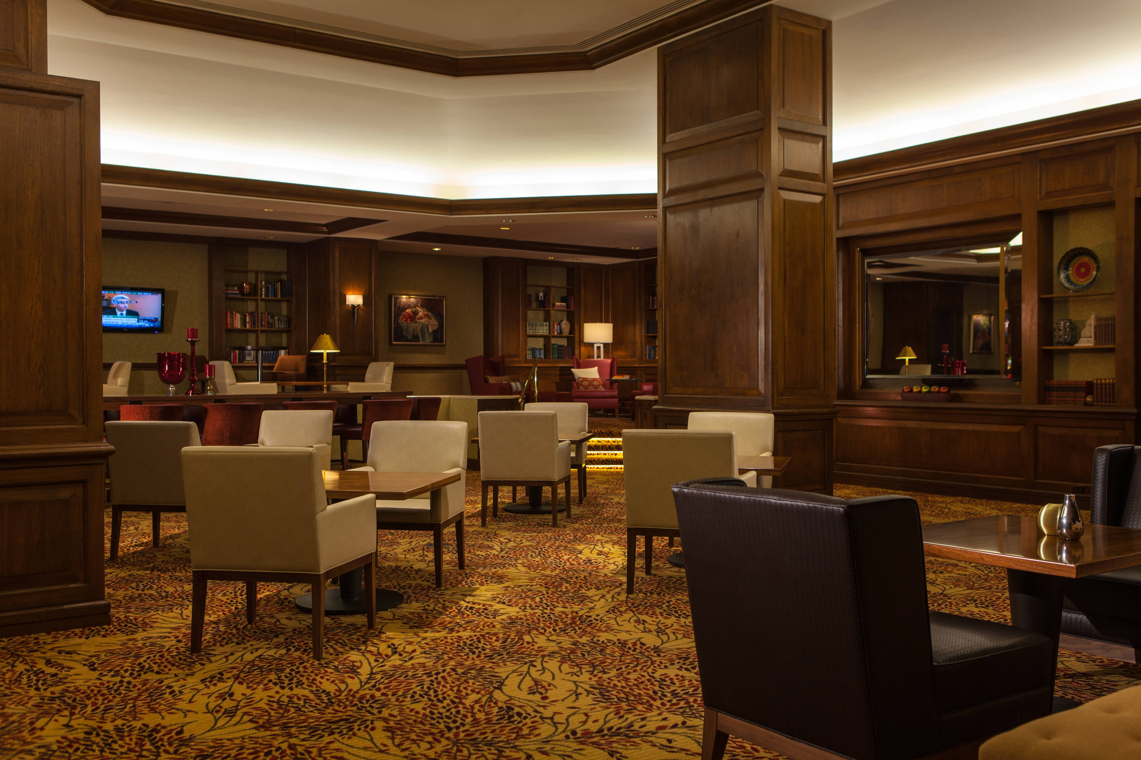 Concierge Lounge - Seating Area