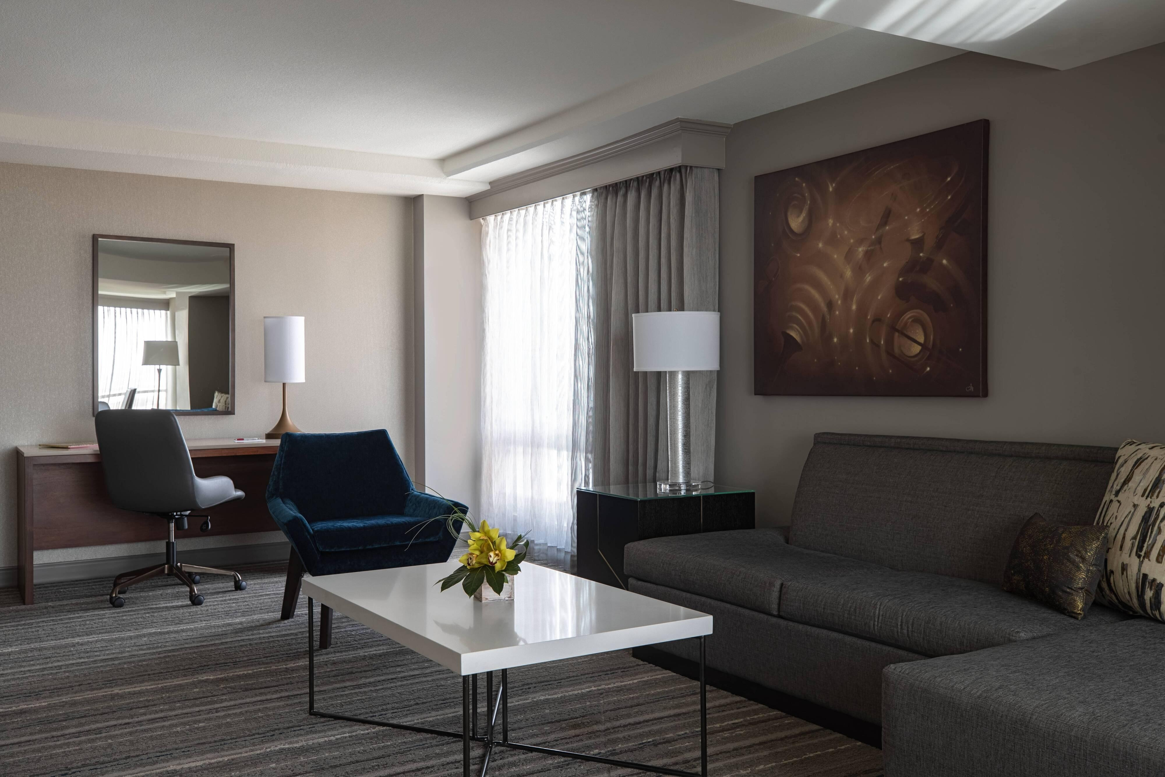 Junior Suite - Living Area