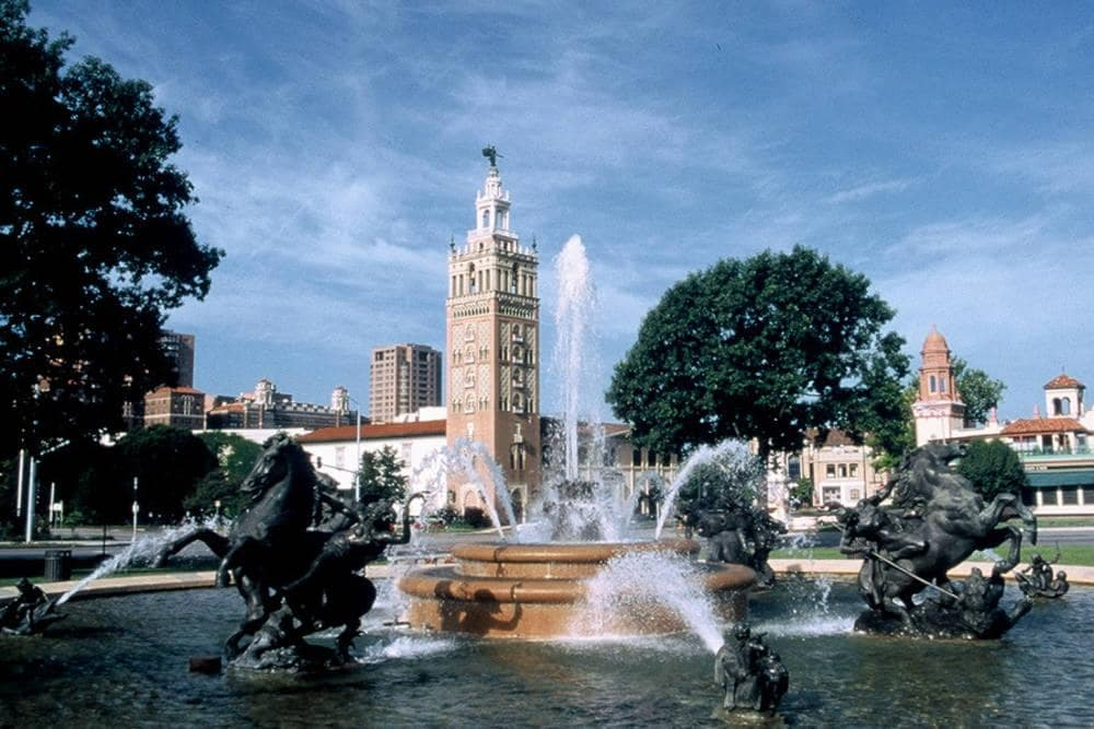Nichols Fountain – Kansas City Marriott