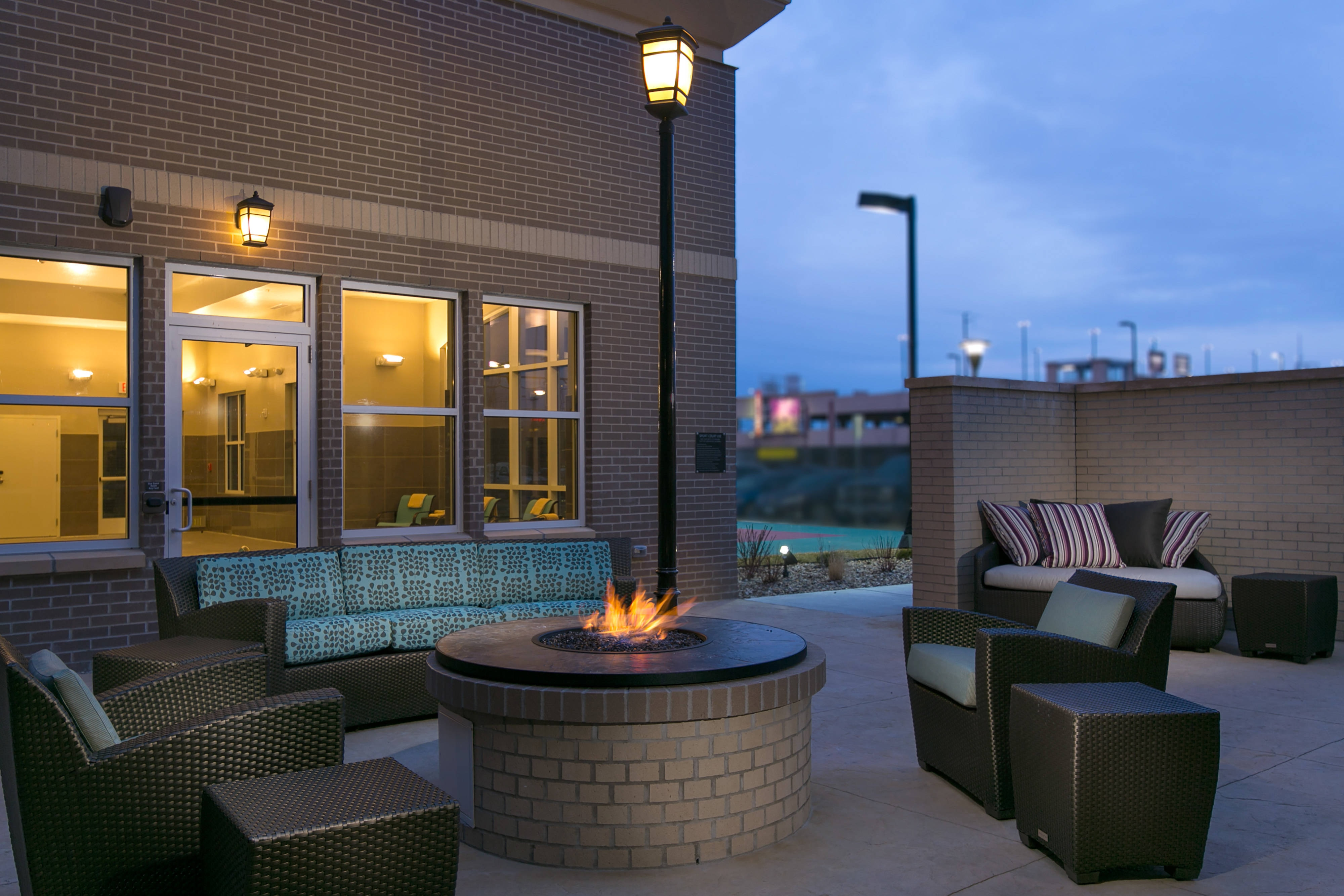 Fire Pit with Outdoor Seating