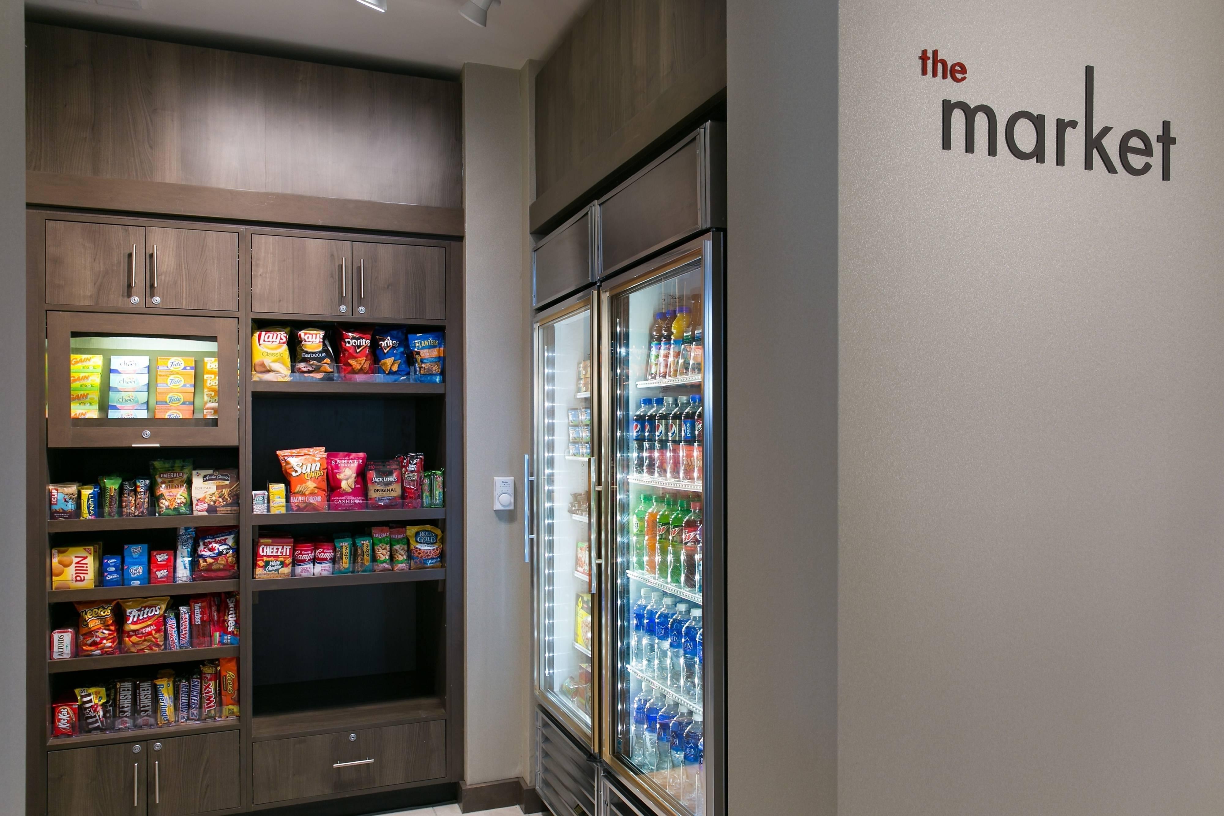 24-Hour On-site Market Food, Beverage, Essentials