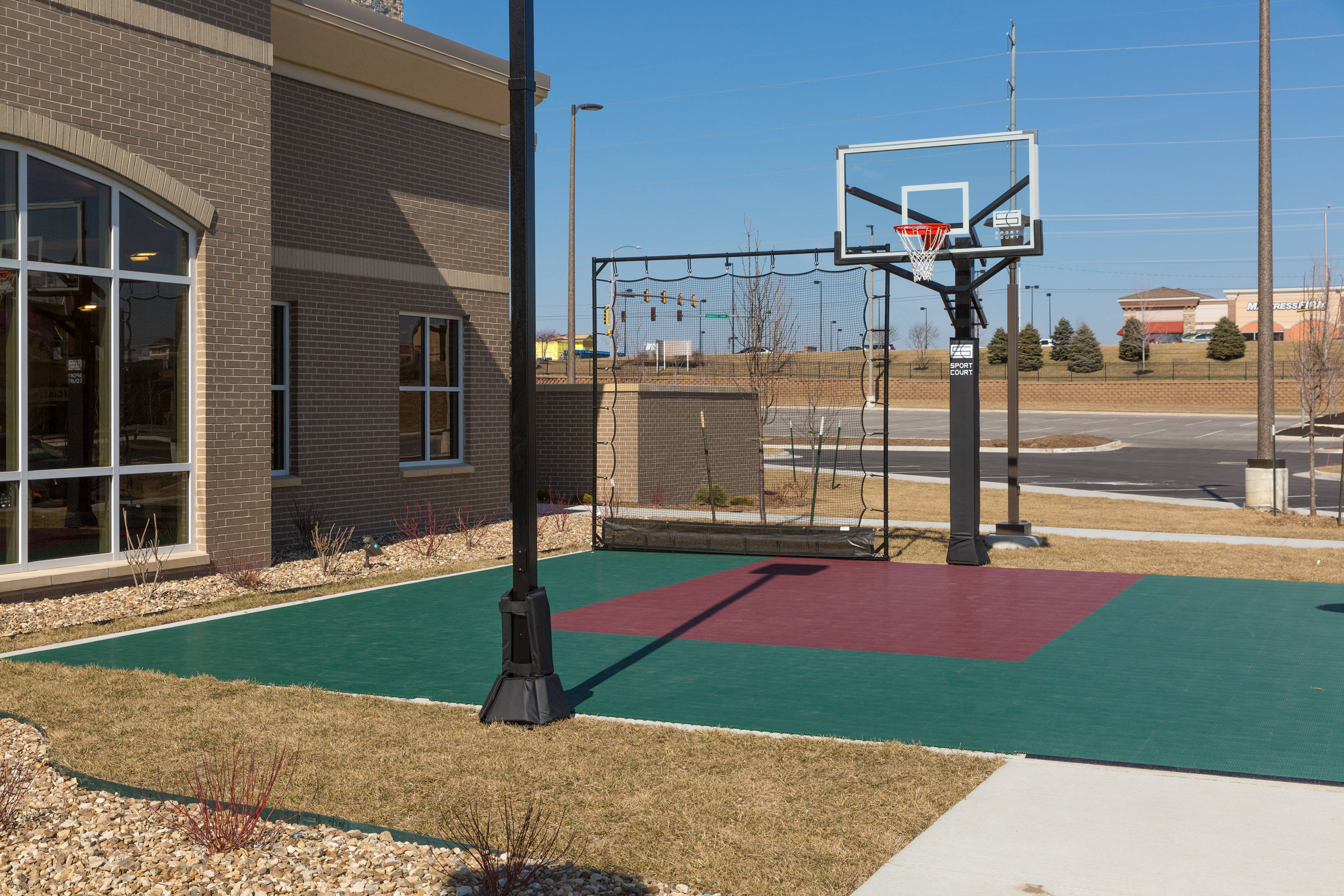 On-site Sport Court Basketball Hoop