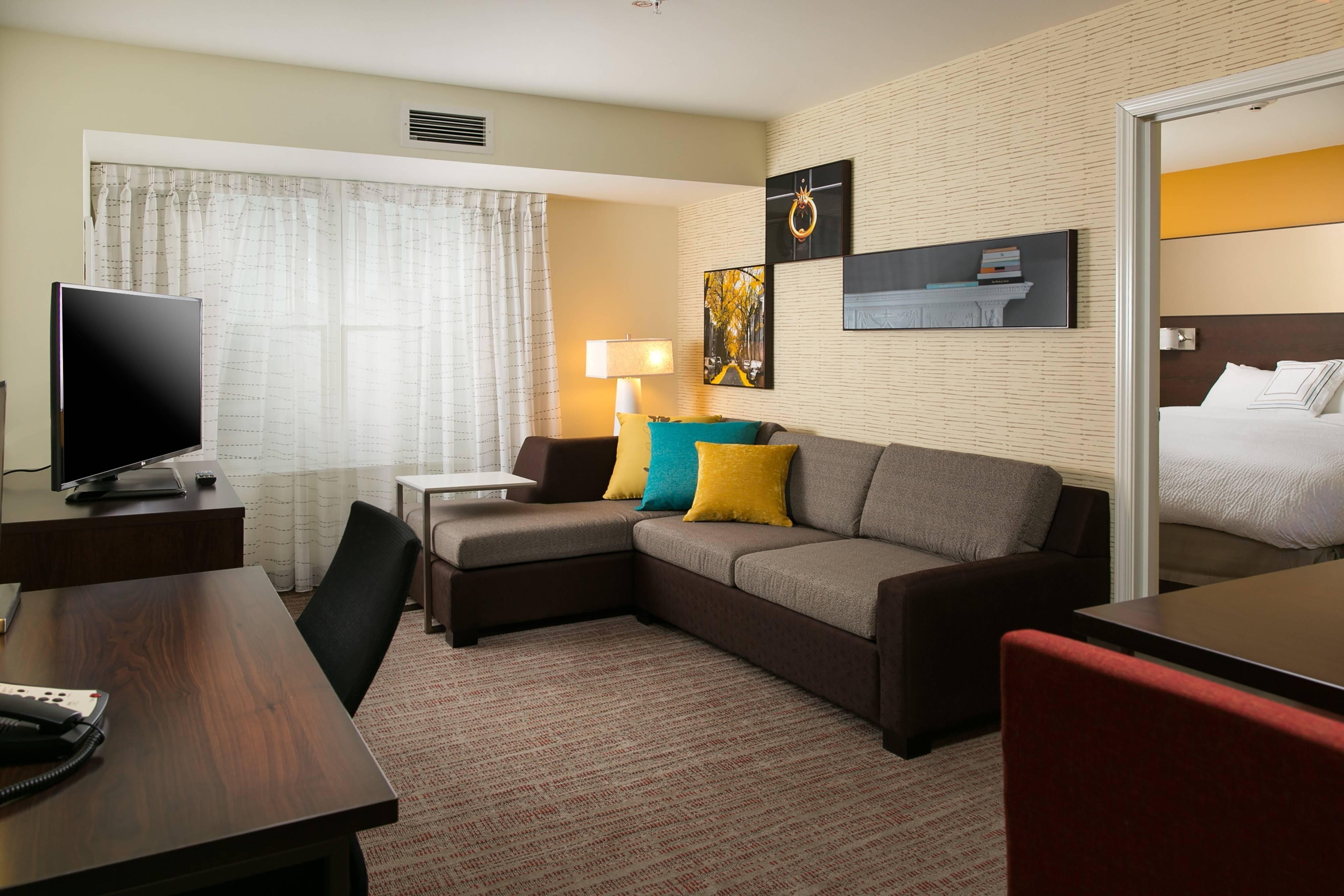 Two-bedroom suite.