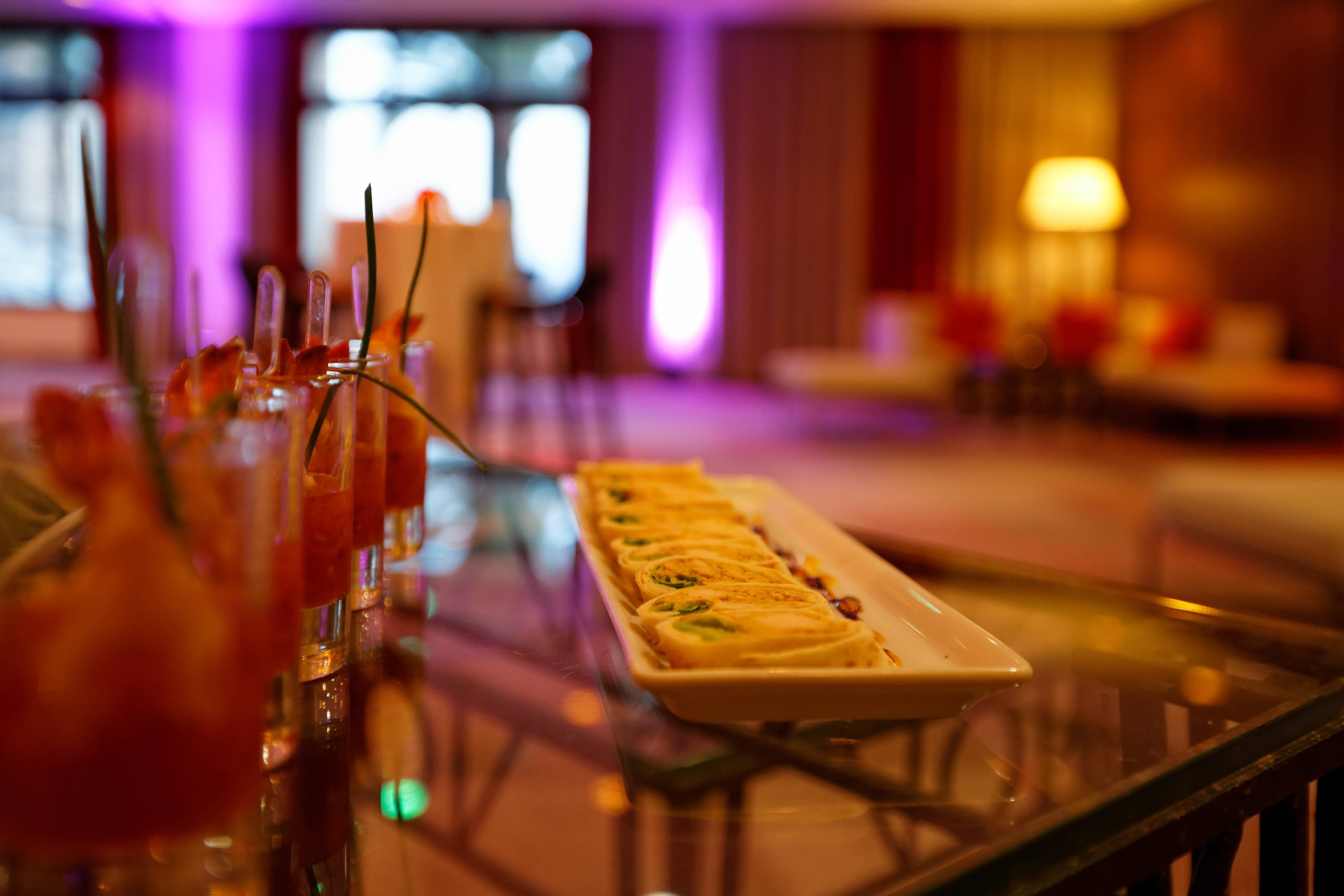 Monaco hotels with catering services