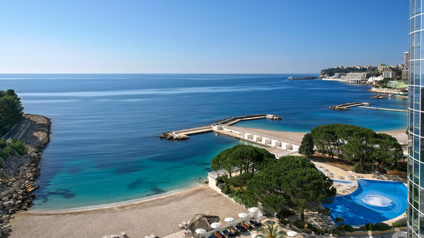 Monte Carlo Luxury Hotels Le M 233 Ridien Beach Plaza