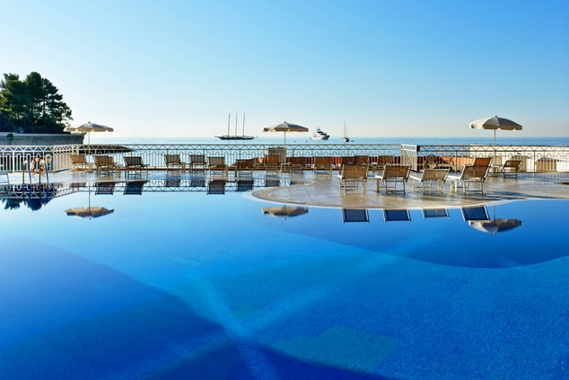 Outdoor Pool and Sea View